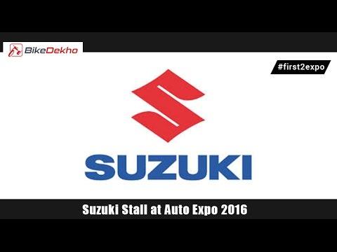 Suzuki Stall @ Auto Expo 2016 | BikeDekho.com