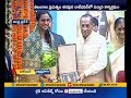 Badminton Champ PV Sindhu & Para Shuttler Manasi Felicitated by TS Governor