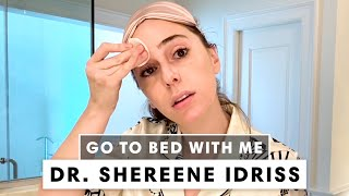 A Dermatologist's Nighttime Skincare Routine   Go To Bed with Dr. Shereene Idriss   Harper's BAZAAR