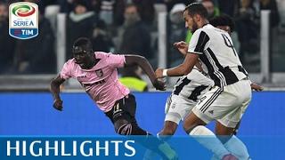 Juventus - Palermo 4-1 - Highlights - Giornata 25 - Serie A TIM 2016/17