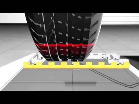 Quick Tread Drive Over Tread Depth System- Hunter Engineering Company