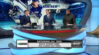 Enterprise Hat Trick:  Boeser   Dec 9,  2018