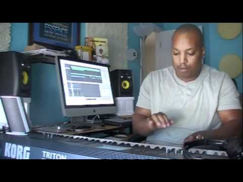 Music Sampling with An AKAI MPD18 with Guzy