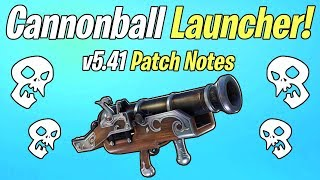 NEW Bowler Cannonball Launcher! Horde Challenge Week 7 Reward | Fortnite Save The World Patch v5.41