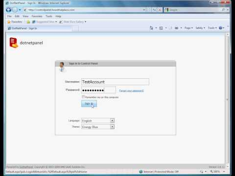 How to create a domain alias in DotNetPanel