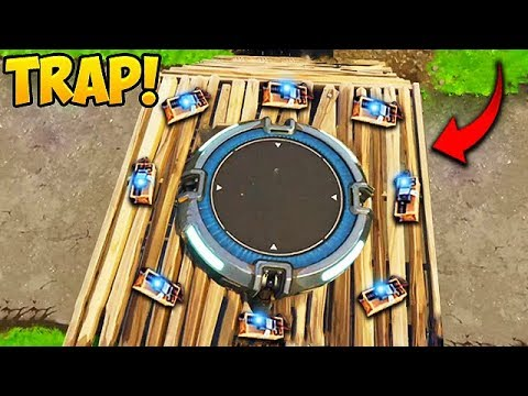 EPIC LAUNCH PAD C4 TRAP! - Fortnite Funny Fails and WTF Moments! #144 (Daily Moments)