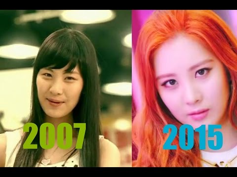 The Evolution Of Girls' Generation  소녀 시대 ( 2007 - 2015 )