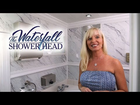 The Waterfall Shower Head Video