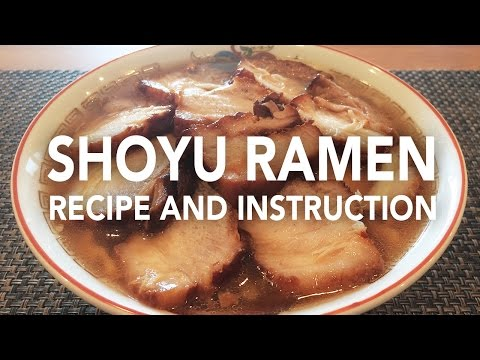 Complete Cooking Instructions of Ban Nai like Shoyu Ramen