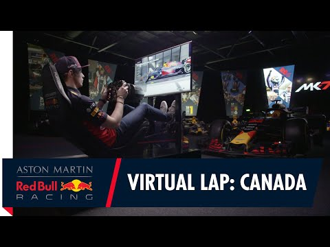 @Citrix Virtual Lap: Max Verstappen at the Canadian Grand Prix