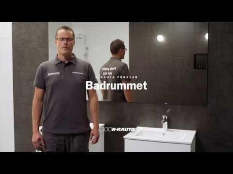 K-rauta - Tips och råd: speglar och skåp