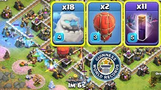 ALL ICE GOLEM AND BAT SPELL ATTACK ,1ST TIME IN COC
