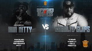 RUM NITTY VS CHARLIE CLIPS SMACK/ URL RAP BATTLE   URLTV