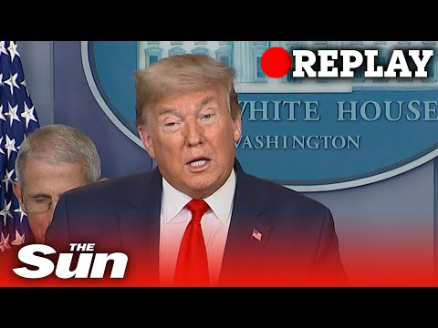 President Donald Trump daily briefing after Covid-19 G20 video conference - Replay