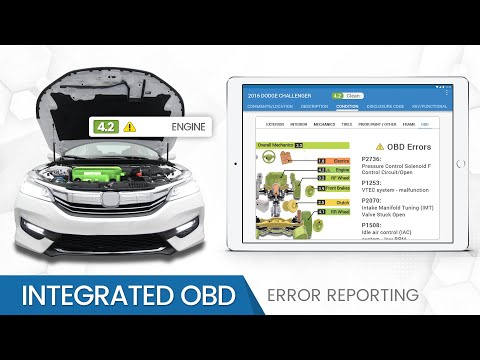 Auto Auction Software - Integrated Onboard Diagnostics Error Reporting