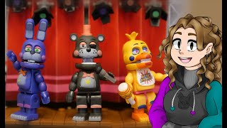 Reviewing New FNaF McFarlane Construction Sets