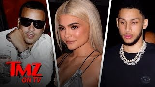 Kylie Jenner & Her Sisters' Exes Ben Simmons, Tristan Thompson All Walk Into A Bar    | TMZ TV