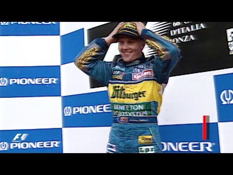 Johnny Herbert Wins At Monza | 1995 Italian Grand Prix