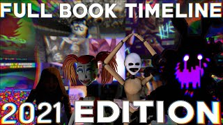 Five Nights at Freddy's FULL Book Timeline - Updated 2021 [Commentary]