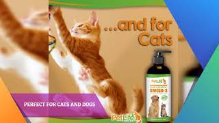 Toxin Free and Pure Fish Oil For Dogs and Cats