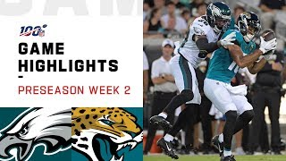 Eagles vs. Jaguars Preseason Week 2 Highlights | NFL 2019