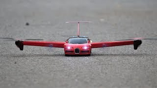 How To Make a Helicopter CAR - Helicopter - Drone Car