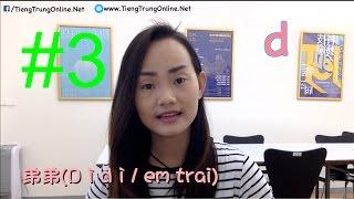 Phần 3: Phát âm cơ bản tiếng Trung:d, t, n, l
