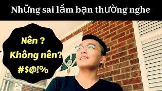 Vlog 2: Những Sai Lầm Về Du Học Mỹ Mà Bạn Thường Nghe | Lâm Python | Chuyện Du Học
