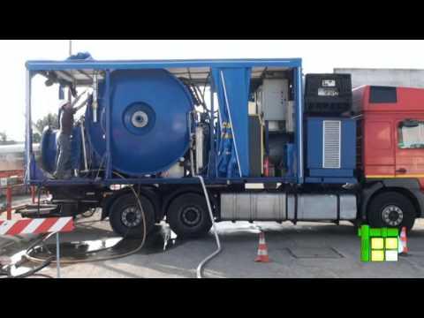 Risanamento fognature Invertitore DN1000mm