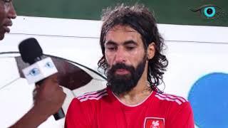 نهائي بطولة مانا للزمن الجميل : لقاء الكابتن حسين عبدالغني نجم الكرة ...