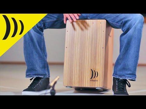 Schlagwerk Cajon Zebrano CP4011 | Buy at Footesmusic