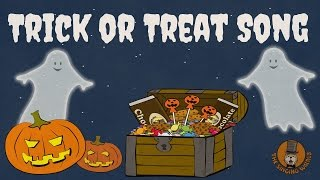 Trick or Treat Song | Halloween Songs for Kids | The Singing Walrus