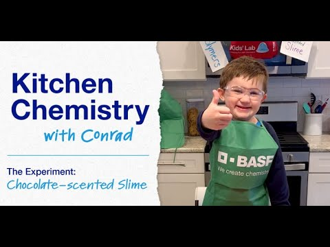 Kitchen Chemistry with Conrad: Chocolate-scented Slime