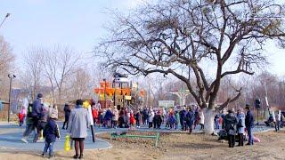 Обустройство игровой площадки для детей по «Народному бюджету» завершено