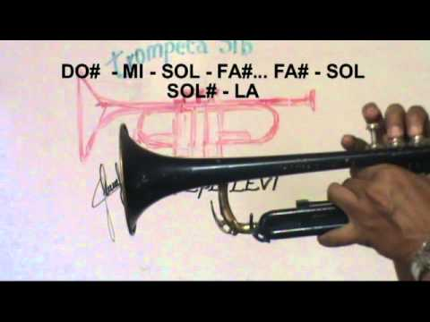 ♪Notas para Trompeta SIb cumbia LA BAMBA ver. de S.Dinamita PP LEVI