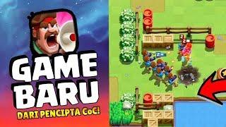 MAININ GAME BARU SUPERCELL - RUSH WAR!! | Mirip CoC Banget Ini!