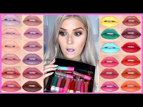 JEFFREE STAR LIP SWATCHES ?? Velour Liquid Lipstick