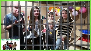 ESCAPE ROOM CHALLENGE - Breaking Out Of Bobo's Room / That YouTub3 Family