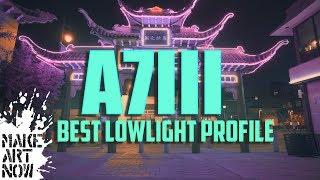 SONY A7III  BEST LOWLIGHT SETTINGS