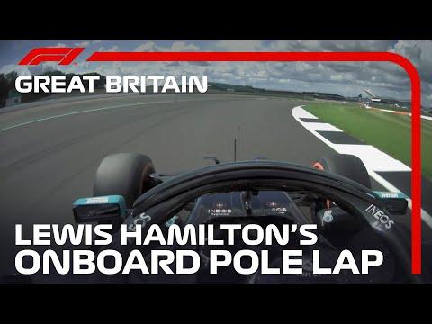 2020 British Grand Prix: Lewis Hamilton?s Pole Lap | Pirelli