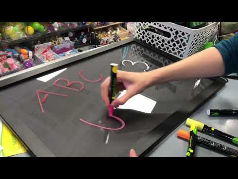 LED Drawing Board with Accessories