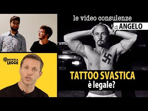È LEGALE TATUARSI UNA SVASTICA? | avv. Angelo Greco