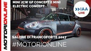 MINI JCW GP Concept  Electric Concept   LIVE al Salone di Francoforte 2017