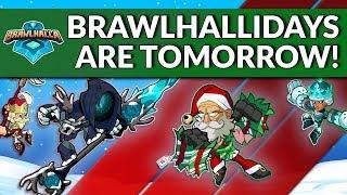 The Brawlhallidays Are Tomorrow! - Brawlhalla Dev Stream Montage