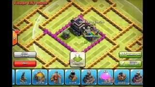 Clash of clans Town hall 8 hybrid base (The Ares) AVAGames