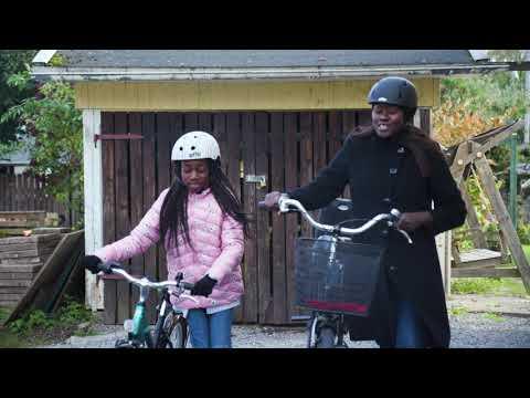 Lätt svenska, film 2. Cykla säkert