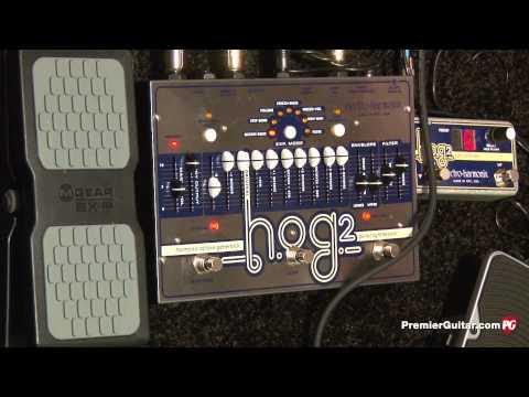 NAMM '13 - Electro-Harmonix Epitome, HOG2 Octave Generator, 45000 Looper, 8 Step Program Demos