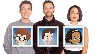 "John Mulaney, Nick Kroll, and Jenny Slate Recap ""Big Mouth"" Season 1 in 10 Minutes | Vanity Fair"