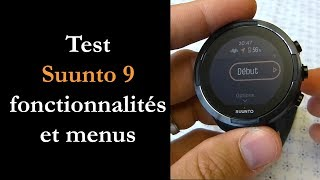 vidéo test Suunto 9 par Montre cardio GPS