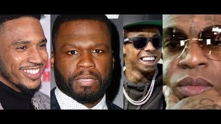 50 Cent Reacts to Backlash Changing Power Theme Song, Lil Wayne Birdman